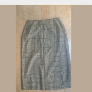 Harris Wallace Wool Blend Skirt Size 12